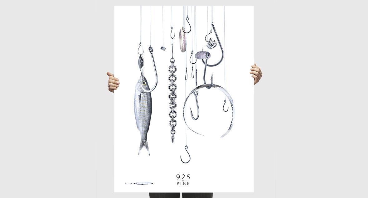 Pikes, Branding Design, Black Squid Design