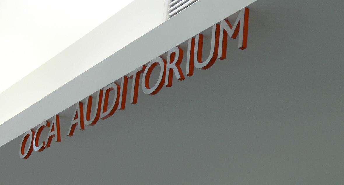 Seymour College, Signage Design, Black Squid Design