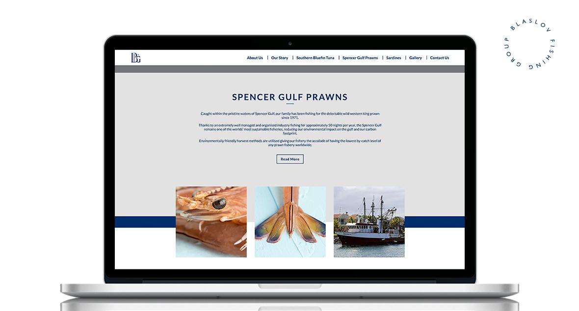 Blaslov, Logo Design, Website Design, Black Squid Design