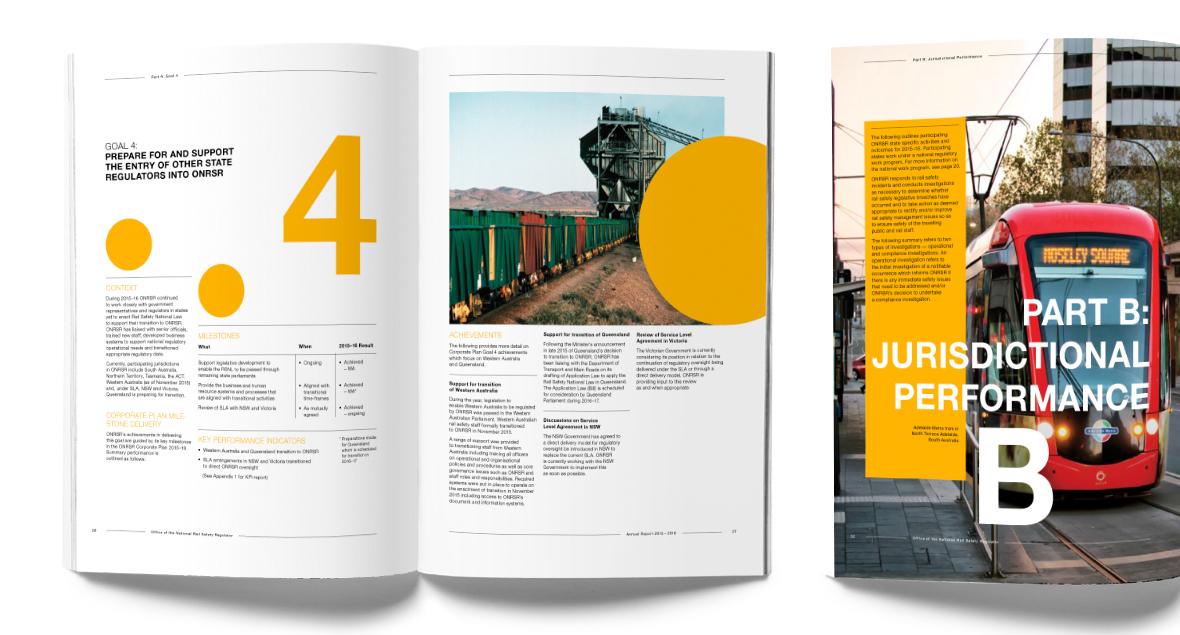 National Rain, Annual Report, Brochure Design, Black Squid Design